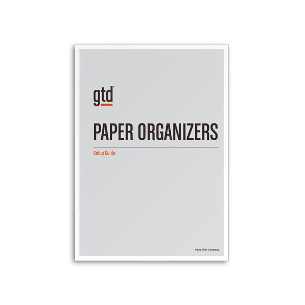 Paper Organizers Setup Guide